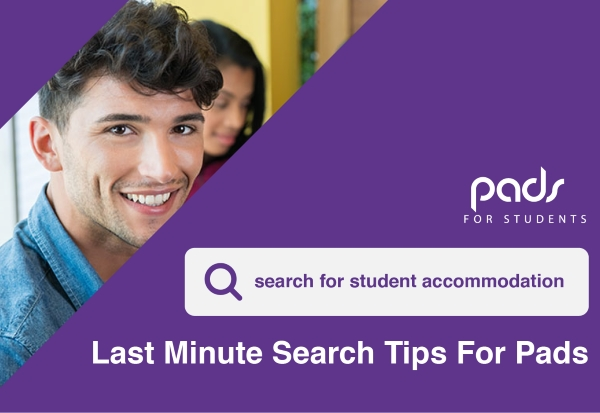Last Minute Search Tips on the Pads for Students Site