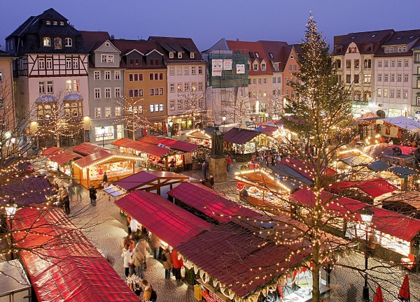 Five Best University Towns for Christmas Markets