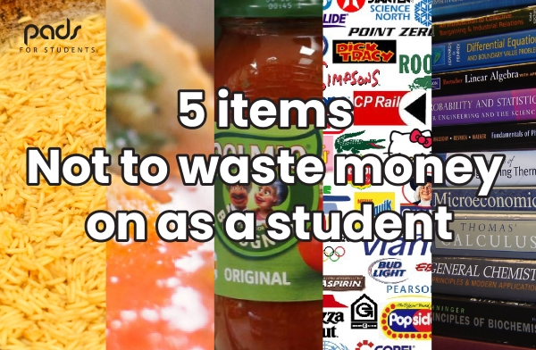 Five Items Not to Waste Money On as a Student