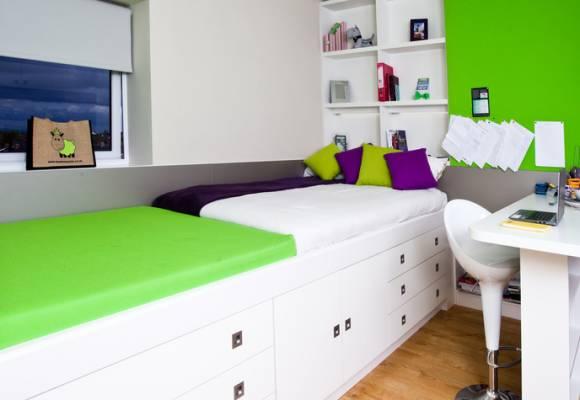 Student Castle Cardiff Accommodation Powis Studio