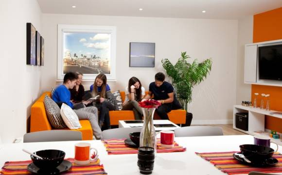 Student Accommodation - London Cluster Room4