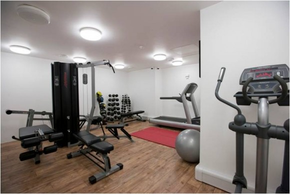 Student accommodation liberty house london st john for Cost of building a gym