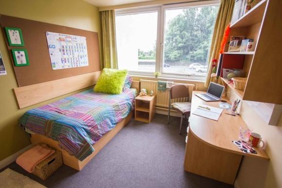 Bradford University Accommodation Student Room
