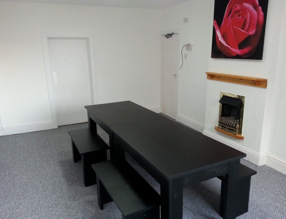 Blackpool Student Accommodation - Dining Room in Palatine House