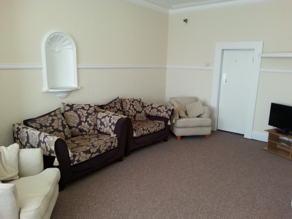 Blackpool Student Accommodation - Lounge in Palatine House